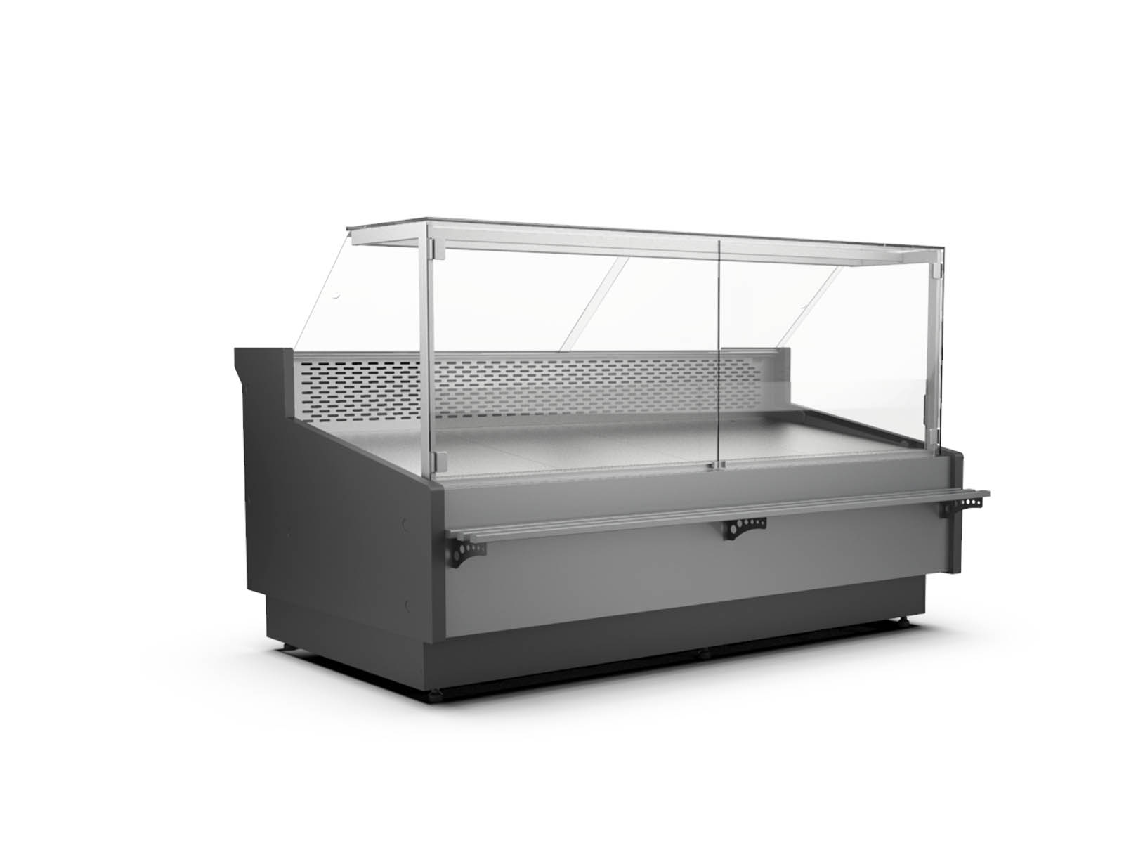Cooling showcases and counters