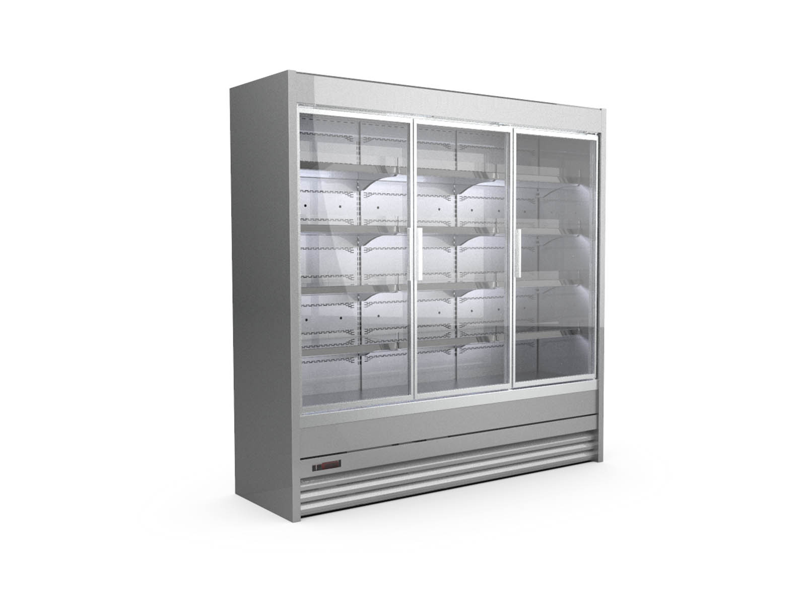 Refrigerated shelvings