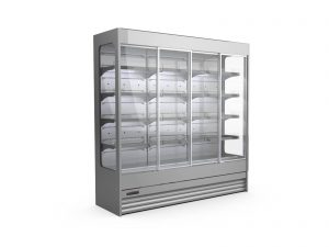 Refrigerated shelves