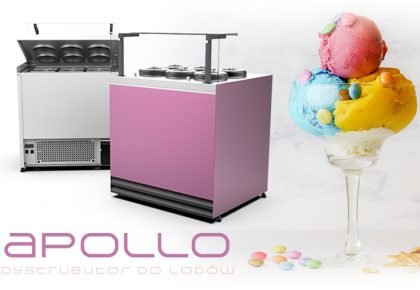 Apollo – ice cream dispenser in  new, better version!