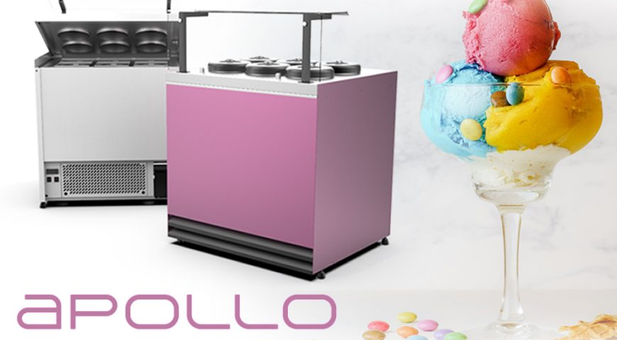 Apollo – dystrybutor do lodów w nowej lepszej wersji !