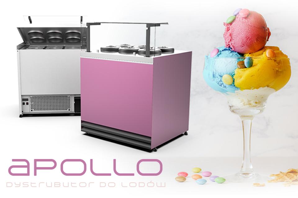 Apollo – ice cream dispenser in  new, better version!