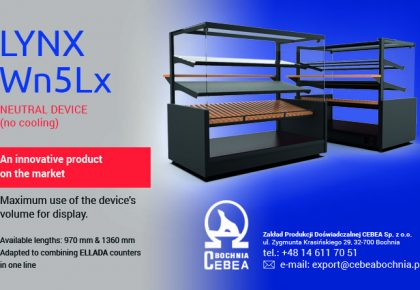 LYNX Wn5Lx – new confectionery display (compatible with ELLADA line)