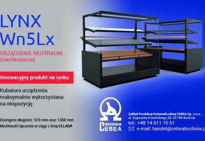 LYNX Wn5Lx  – nowa witryna (kompatybilna z linią ELLADA)